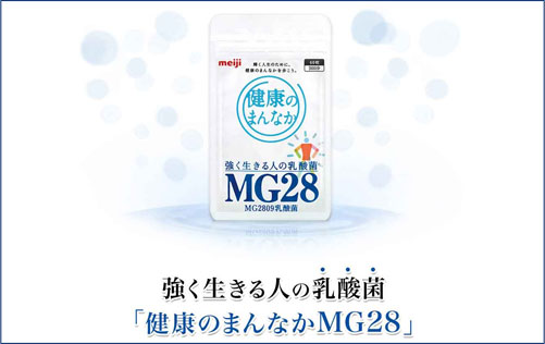 MG28乳酸菌、健康のまんなか